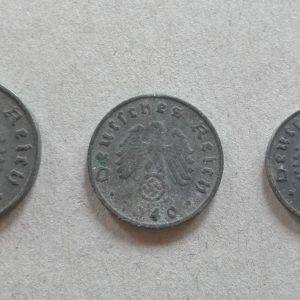 10 5 1 német birodalmi pfenning 2