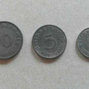10 5 1 német birodalmi pfenning