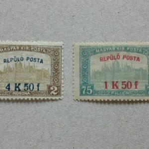1918 Repülő posta