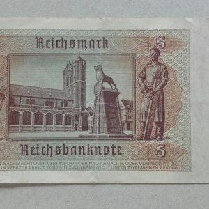 1942 5 reichsmark 2
