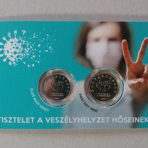 2020 Tisztelet a hősöknek 10 20 forint bliszter
