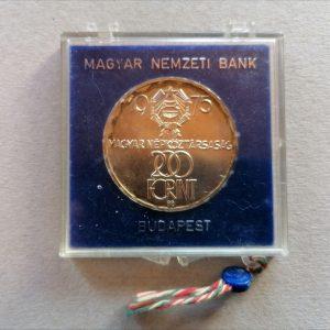 1975 200 forint Felszabadulás ezüst