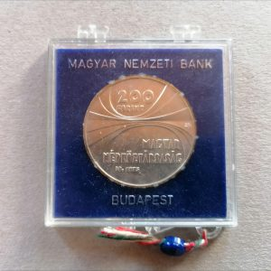 1975 200 forint MTA ezüst